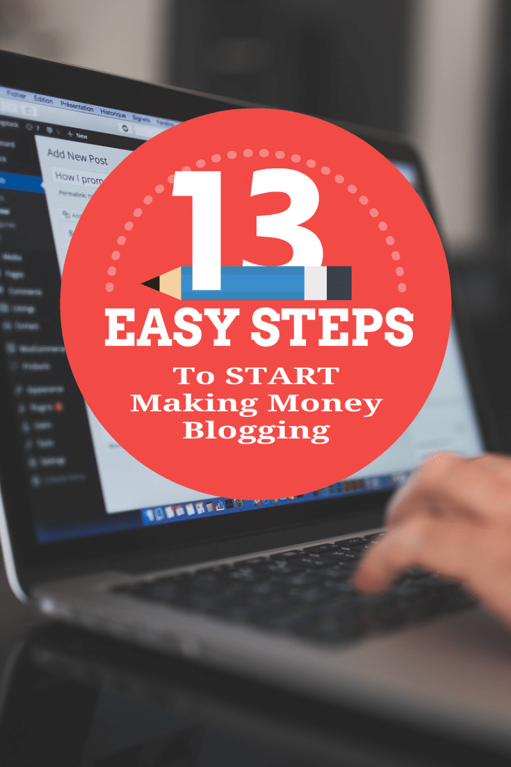 Follow the 13 Steps here to setup and start your own WordPress blog. Learn how to get setup so you can start making money now.