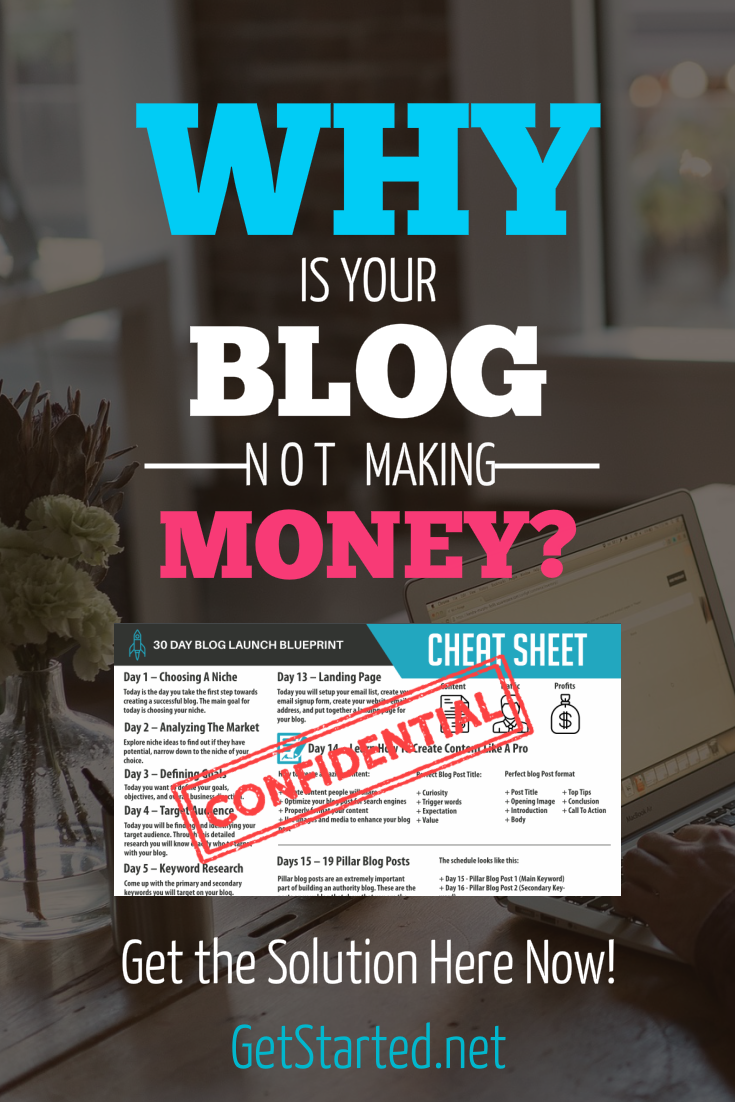 Why is your blog not making money? Does your blog suck? Learn how to setup your WordPress blog the right way following this 13 Step
