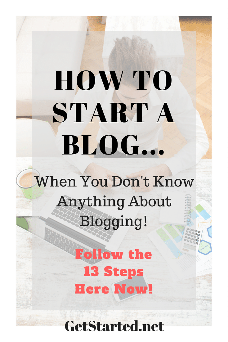 The beginners ultimate guide to starting a blog. Learn the 13 step process to starting a profitable WordPress blog now.