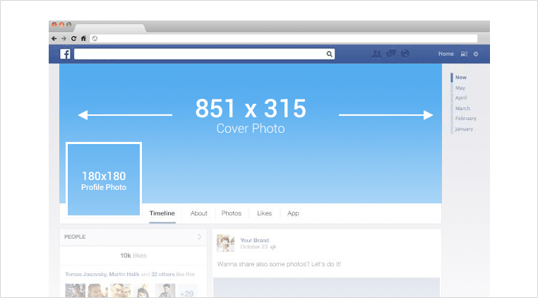 Facebook Image Dimensions for social media sharing to Facebook. The perfect sizes to ensure your pictures are shared on Facebook and look perfect each time you share them.