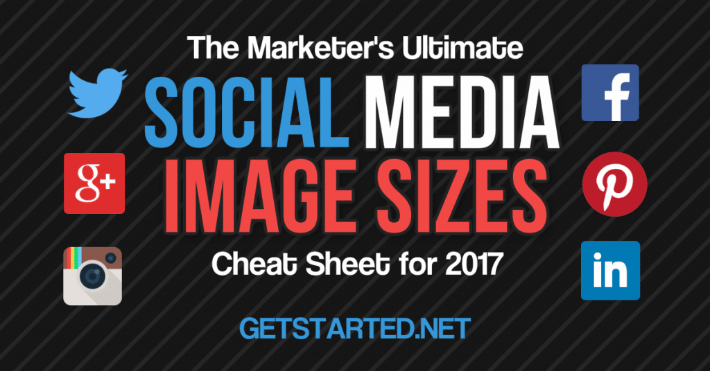 The Marketer's Ultimate Social Media Image Sizes Cheat Sheet for 2019