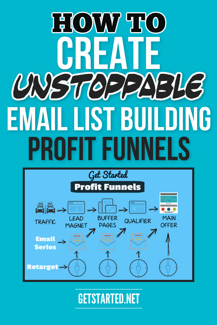 Follow the step by step process for building unstoppable email list building Profit Funnels for your WordPress blog based business.  Get the exact steps you need to turn your blog into a long term profit solution today.