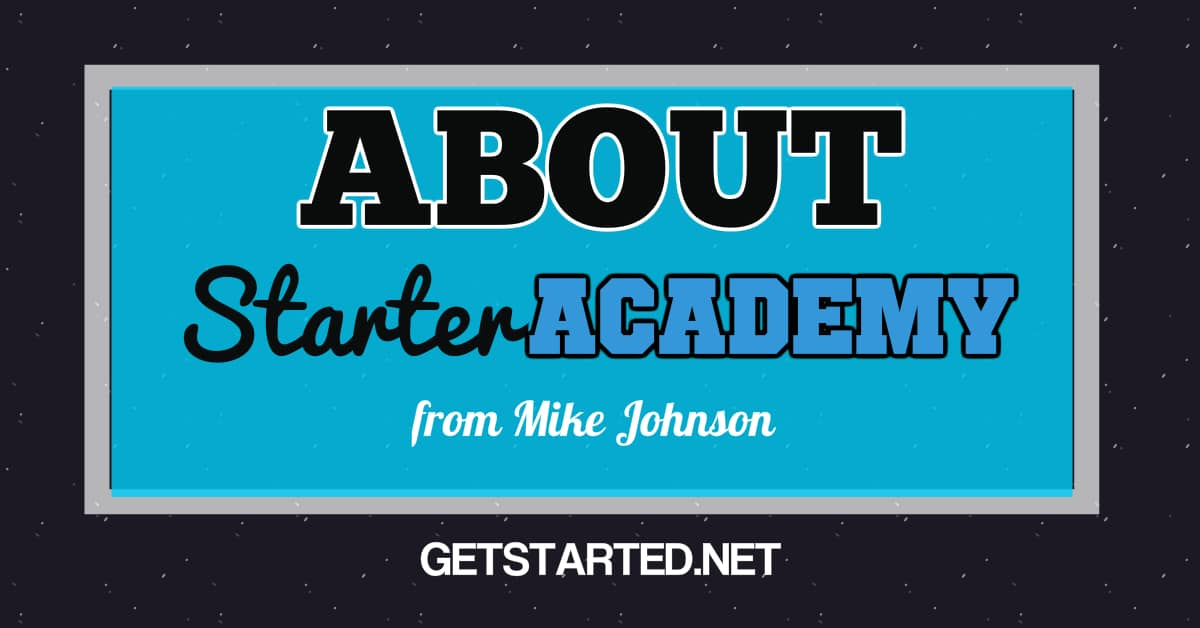 About Starter Academy