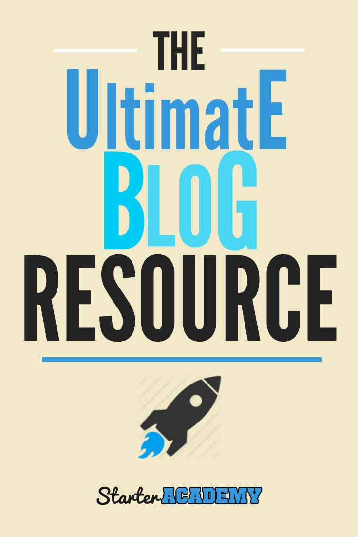 Want to build your blog based business? Use the incredible free resources from the Starter Academy! Use our checklists, cheatsheets, ebooks, video courses, action plans, and more to build, market, and profit from your WordPress blog now!