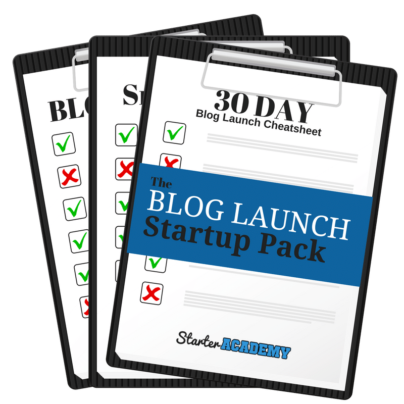 The Blog Startup Package